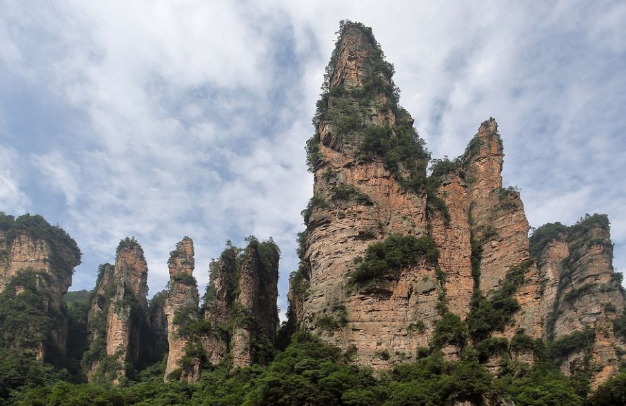 Rundreisen durch China Zhangjiajie Wulingyuan