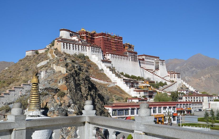 tibet potala palast rundreisen durch china